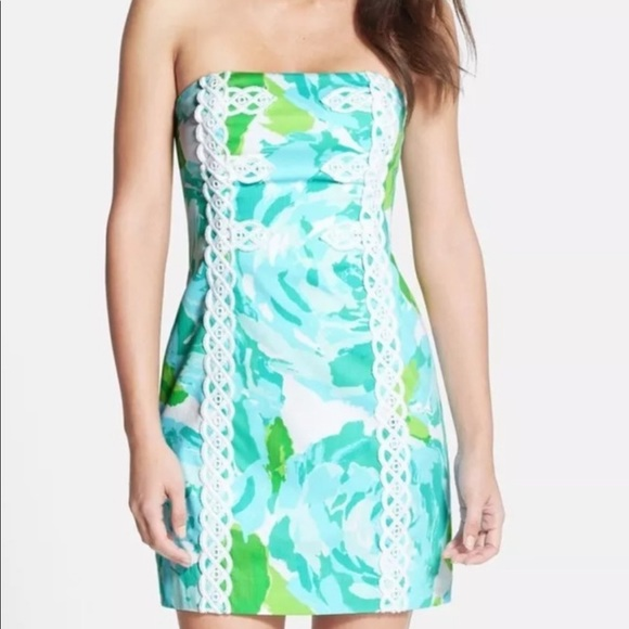 Lilly Pulitzer First Impression Strapless dress